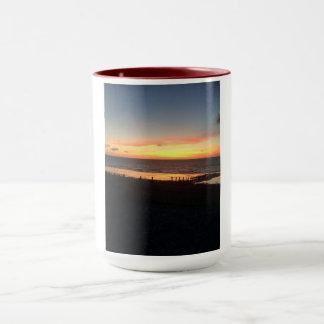 Sunset in Abergele Mug