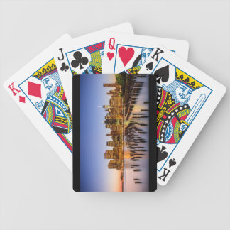 Sunset in Brooklyn Bicycle Playing Cards