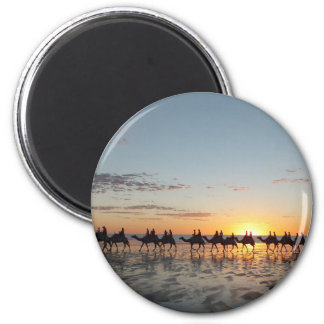 Sunset in Broome 2 Inch Round Magnet