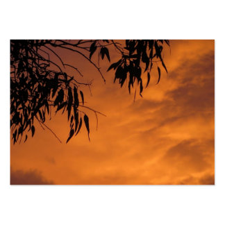 Sunset in Canberra Pack Of Chubby Business Cards
