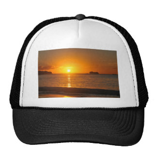 Sunset in Caribbean Trucker Hat