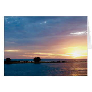 Sunset in Clearwater Card