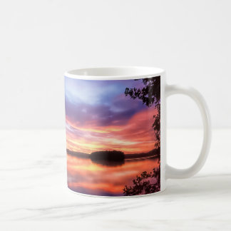 Sunset in Finland Mug