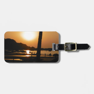 Sunset in Goa Luggage Tag