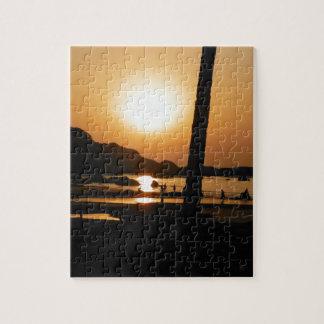 Sunset in Goa Puzzles