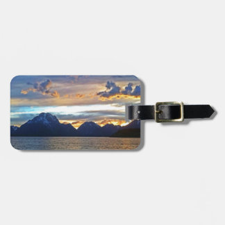 Sunset in Grand Teton National Park Luggage Tag