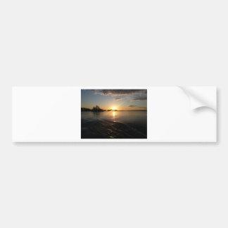 Sunset in Heaven Bumper Sticker
