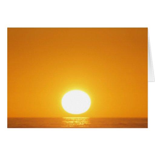 Sunset in Karamea, New Zealand Greeting Card