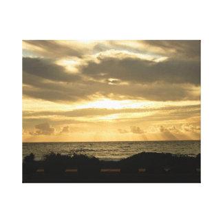 Sunset in Kauai Canvas Print