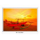 Sunset in Kuta Postcard