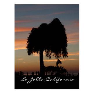 Sunset in La Jolla Postcard