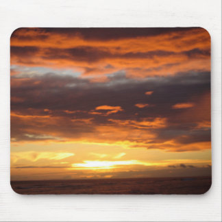 Sunset in Lahaina in Maui Hawaii Mouse Pad