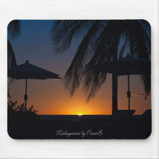 Sunset in Madagascar Mouse Pad