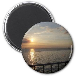 Sunset in Manila Refrigerator Magnet