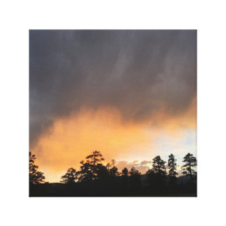 Sunset in New Mexico Canvas Print