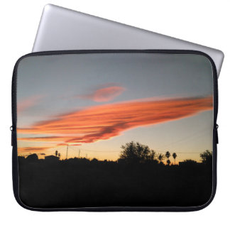 Sunset in November in Spain Laptop Sleeve