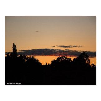 Sunset in Oslo, Sophie Design Postcard