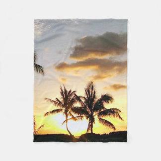 Sunset in Paradise, Honolulu Hawaii Fleece