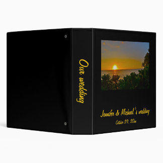 Sunset in Paradise Photo Album 3 Ring Binder