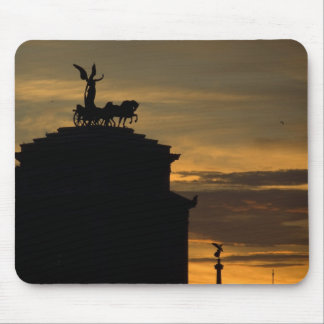 Sunset in Rome Mouse Pad