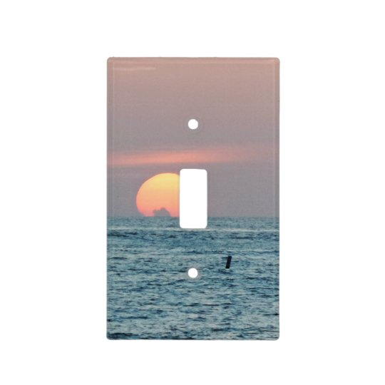 Sunset in St.Petersburg Beach Florida Light Switch Cover