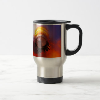 Sunset in the Caribbean Travel Mug