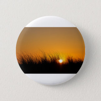 Sunset in the dunes 2 inch round button