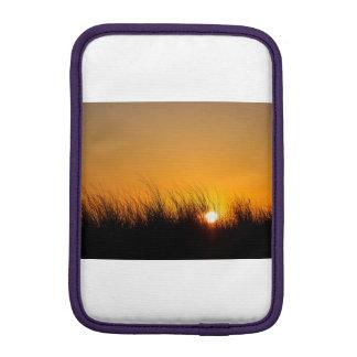 Sunset in the dunes iPad mini sleeve