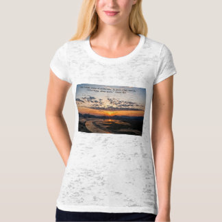 Sunset in the East. T-Shirt