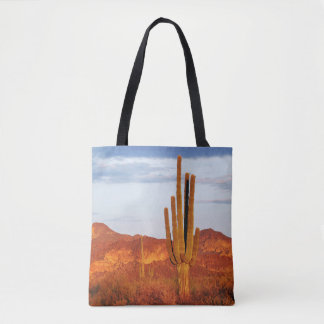 sunset in the East Valley Tote Bag
