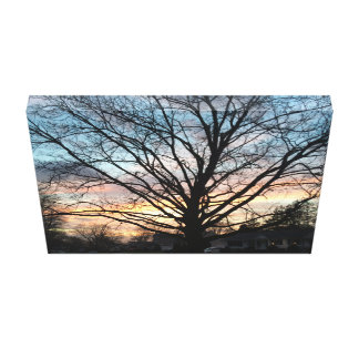 Sunset in the Neighborhood Canvas Print