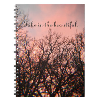 Sunset in the Woods Notebooks