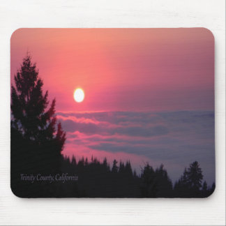 Sunset in Trinity County, California Mouse Pad