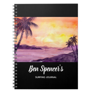 Sunset in Tropics by Farida Greenfield Notebooks