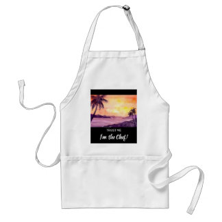 Sunset in Tropics by Farida Greenfield Standard Apron