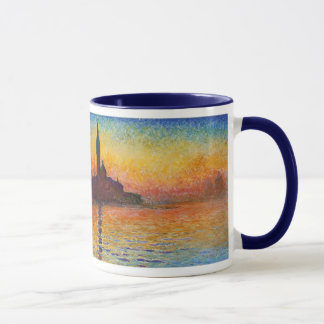 Sunset in Venice, Claude Monet Mug