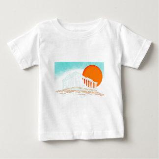 sunset inside Parthenon Baby T-Shirt