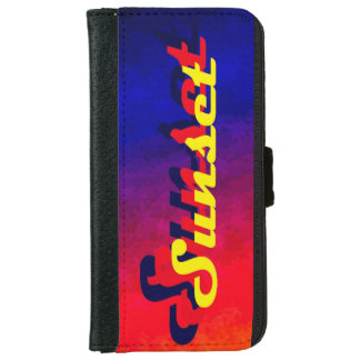 Sunset iPhone 6/6s Wallet Case