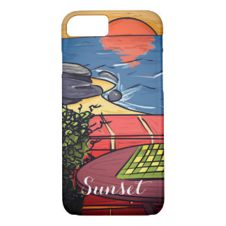 Sunset iPhone 8/7 Case