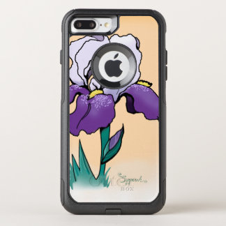 Sunset Iris Cute Floral OtterBox Commuter iPhone 8 Plus/7 Plus Case