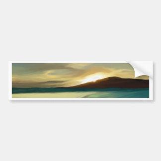 sunset_island1680X1050.JPG Bumper Sticker