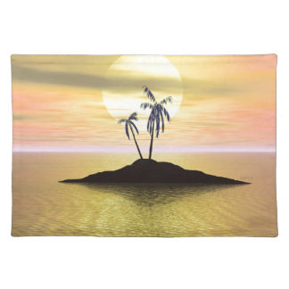 Sunset Island Placemat