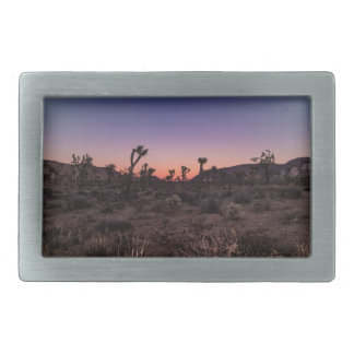 Sunset Joshua Tree National Park Belt Buckle