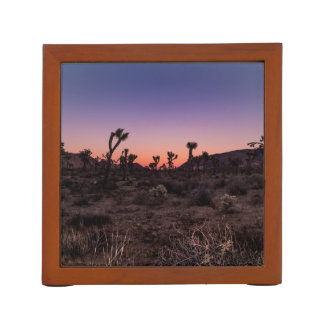 Sunset Joshua Tree National Park Desk Organizer