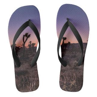 Sunset Joshua Tree National Park Flip Flops