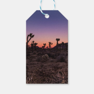 Sunset Joshua Tree National Park Gift Tags