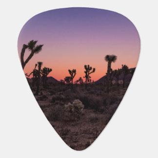 Sunset Joshua Tree National Park Guitar Pick