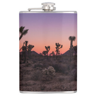 Sunset Joshua Tree National Park Hip Flask