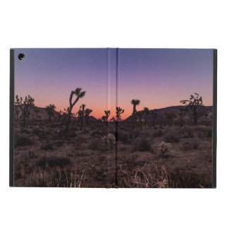 Sunset Joshua Tree National Park iPad Air Cover