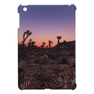 Sunset Joshua Tree National Park iPad Mini Cover